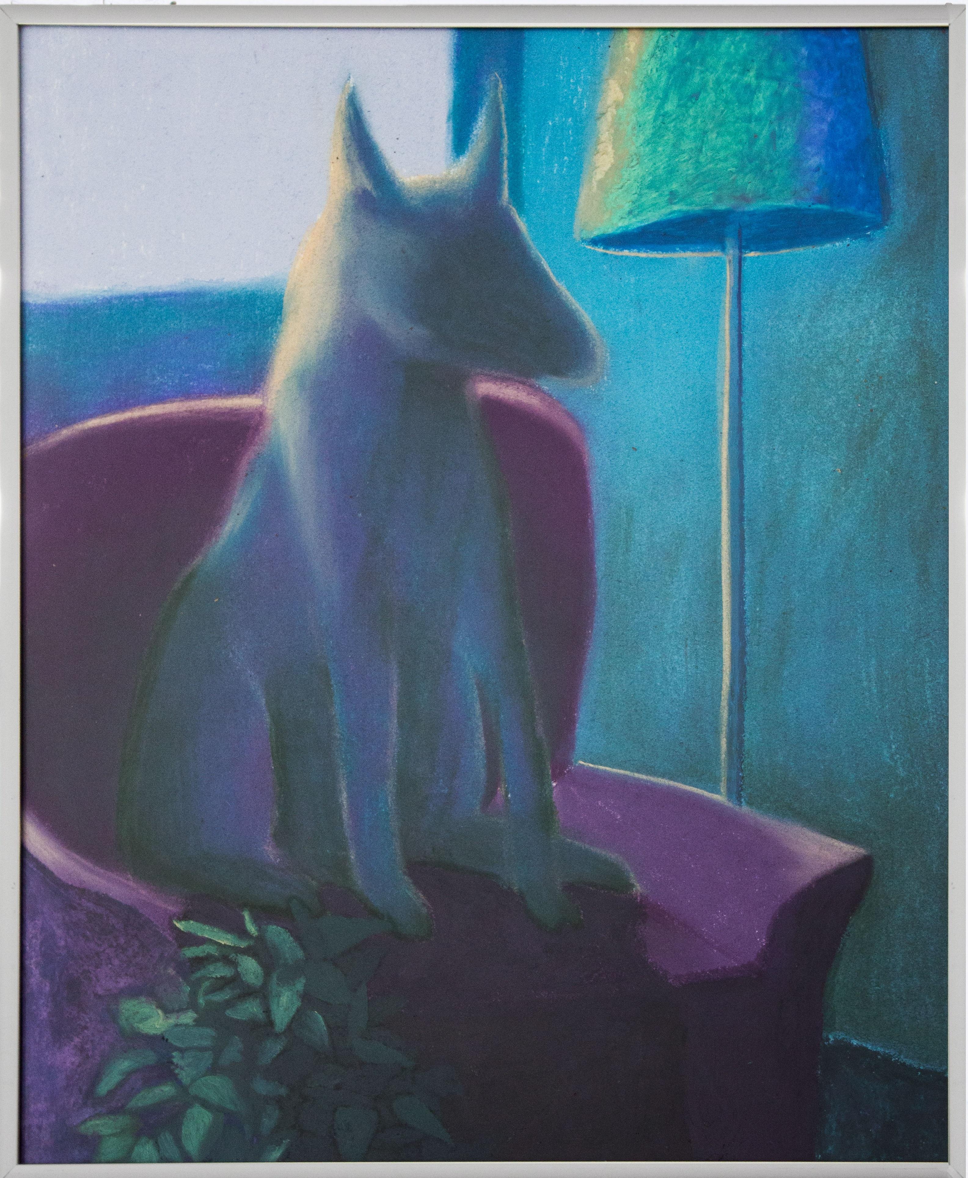 Alessandro Fogo - Untitled, 42 x 35 cm, Olio e pastelli su carta, 2019